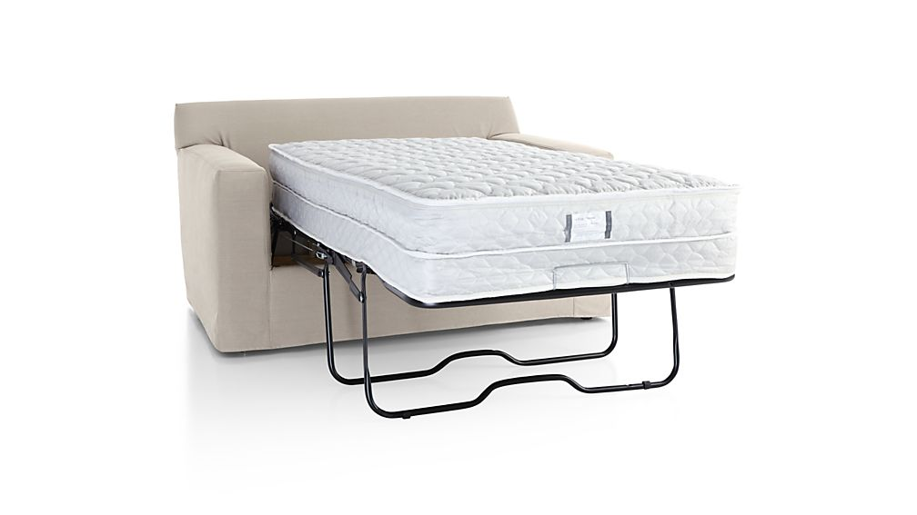 Axis II Slipcovered Twin Sleeper Sofa with Air Mattress