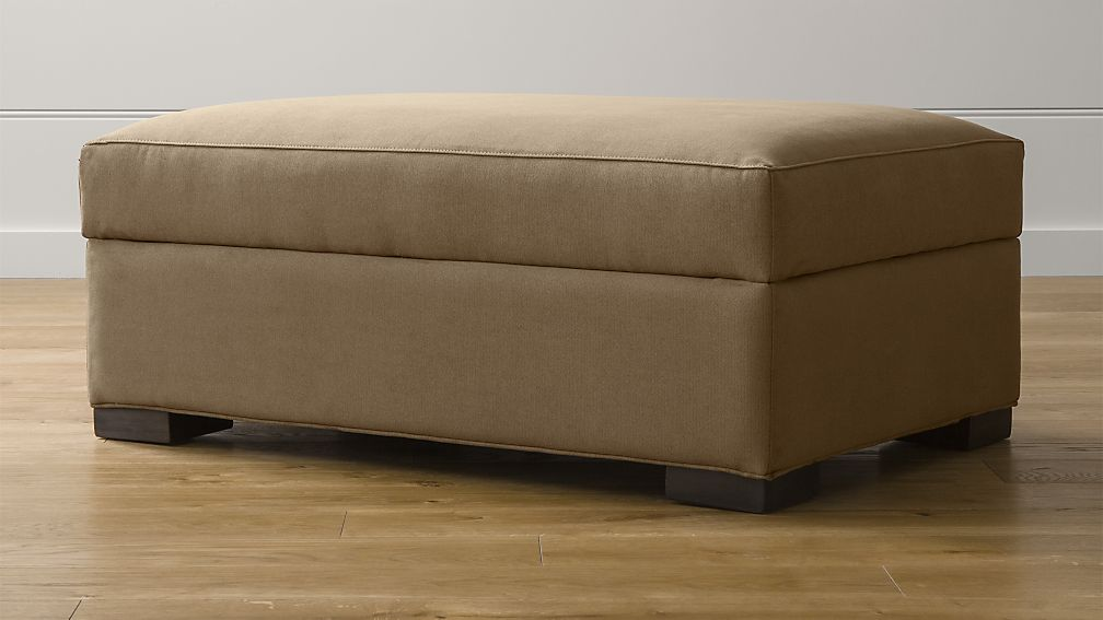 axis ii storage ottoman douglas coffee crate and barrel. Black Bedroom Furniture Sets. Home Design Ideas