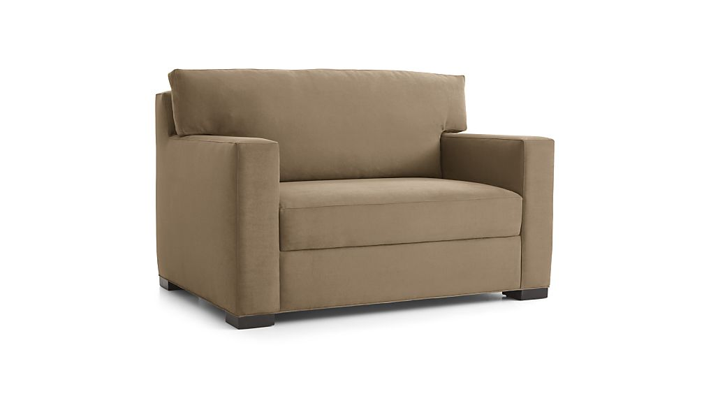 Axis Ii Twin Ultra Memory Foam Sleeper Sofa Douglas Coffee Crate And Barrel