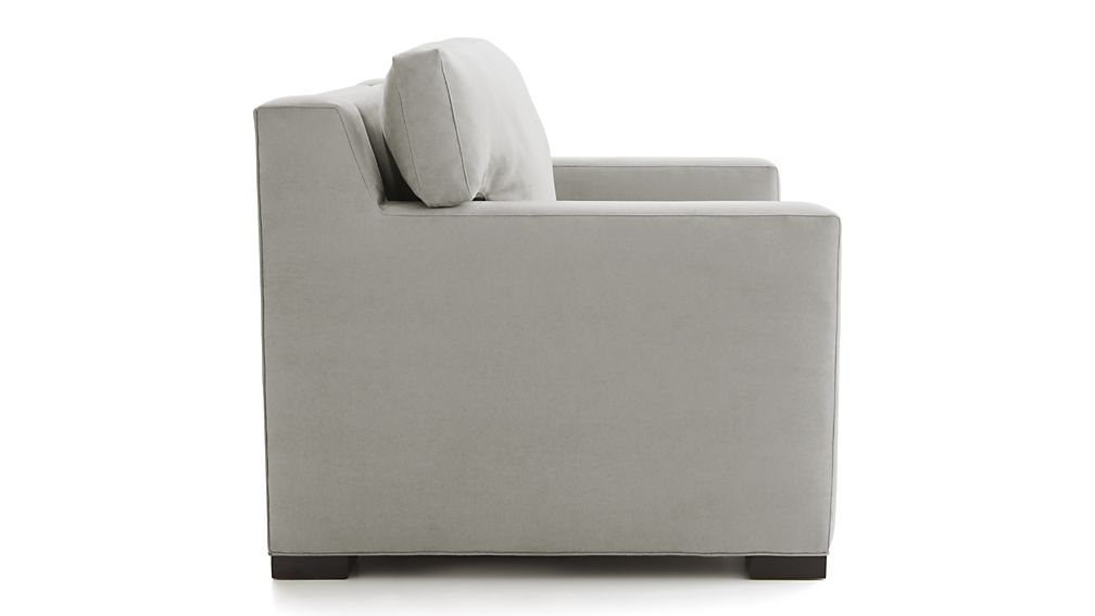 Axis Ii Twin Ultra Memory Foam Sleeper Sofa Douglas Charcoal Crate And Barrel