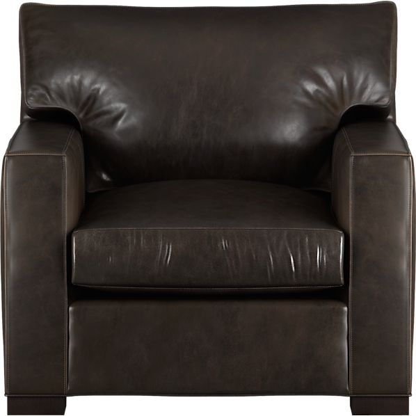 """Axis Leather 40"""" Chair"""