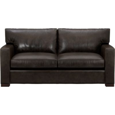 Axis Leather Loveseat
