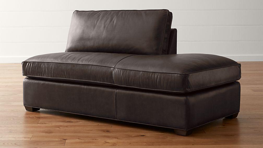 Axis II Leather Right Bumper Sofa