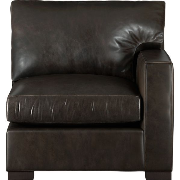Axis Leather Sectional Right Arm Chair