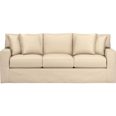 Axis Slipcovered 3-Seat Queen Sleeper Sofa