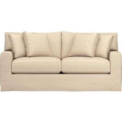Axis Slipcovered Apartment Sofa