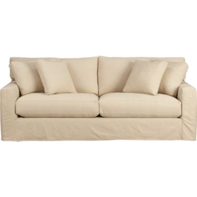 Axis Slipcovered 2-Seat Queen Sleeper Sofa
