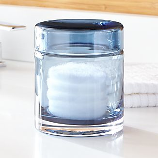 Mode Azure Small Glass Canister