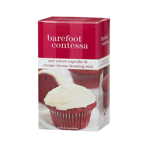Barefoot Contessa Red Velvet Cupcake & Cream Cheese Frosting Mix