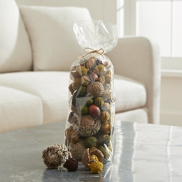 Bag of Large Dried Acorns