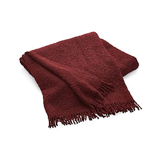 Bailey Wine Red Throw