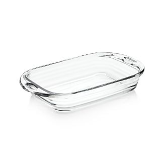 Baked by Fireking 3-Qt. Rectangular Glass Baking Dish