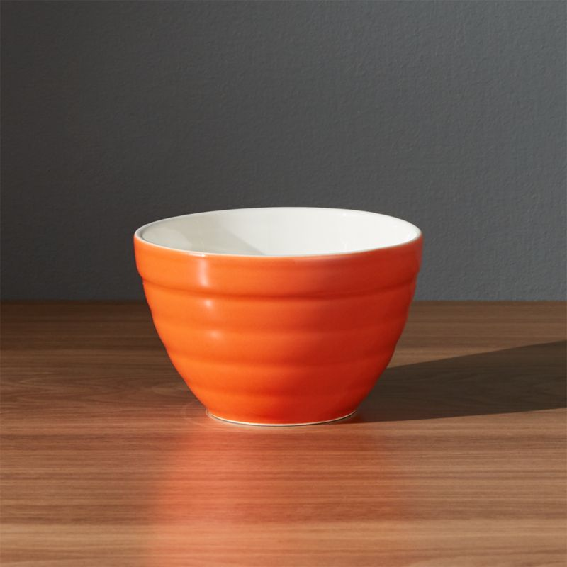 Baker Orange Mini Bowl