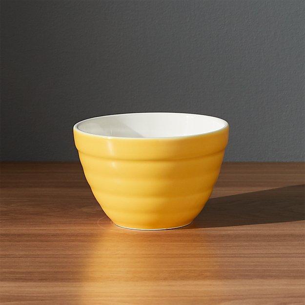 Baker Yellow Mini Bowl