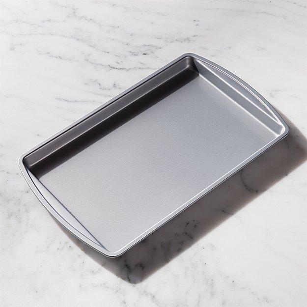 how to clean a non stick sheet pan