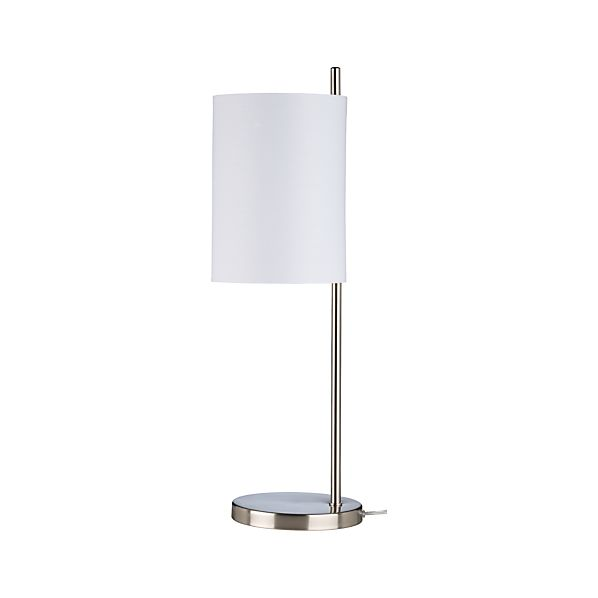 Balance Nickel Table Lamp