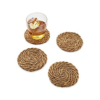 Set of 4 Bali Coasters