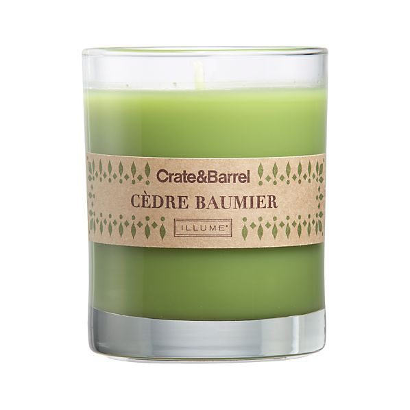 Balsam Cedar Scented Candle
