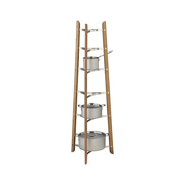 Bamboo Cookware Stand