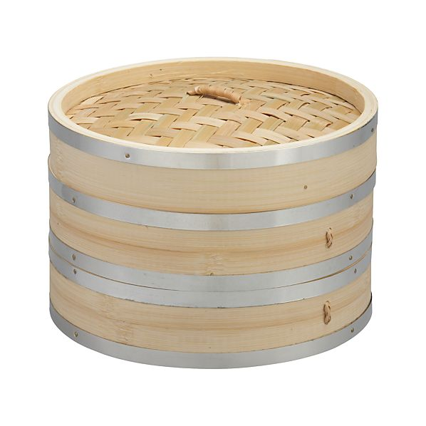 Bamboo Double Steamer