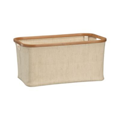 Large Bamboo-Jute Basket