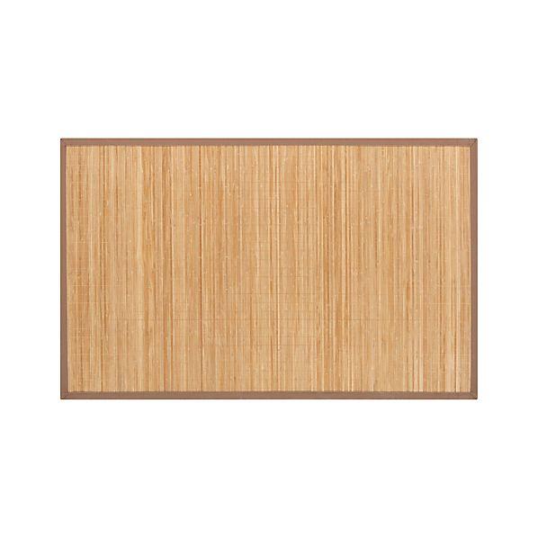 Bamboo Mocha 4'x6' Rug