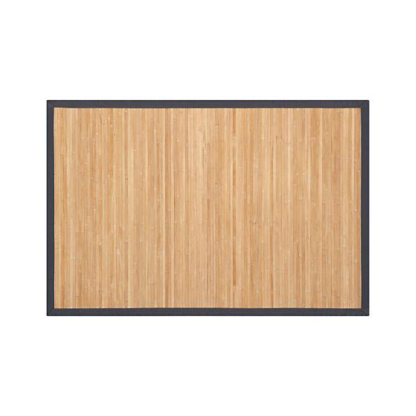 Bamboo Slate 4'x6' Rug