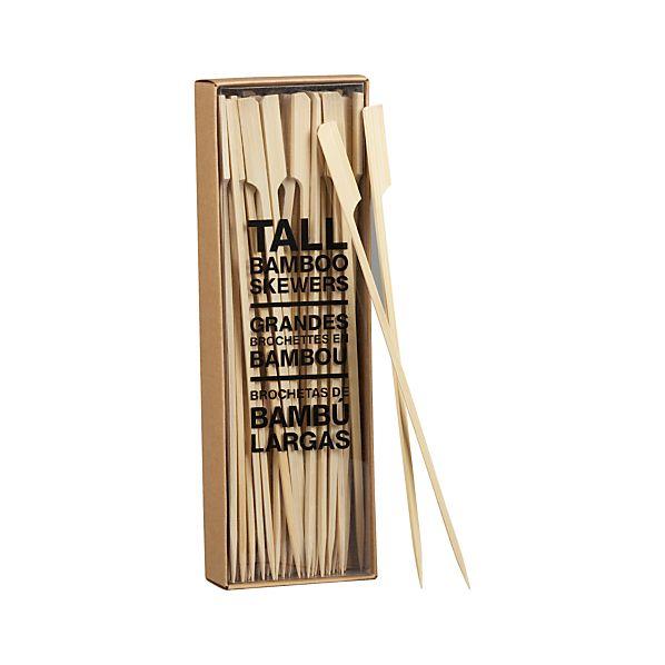 Set of 50 Bamboo Skewers