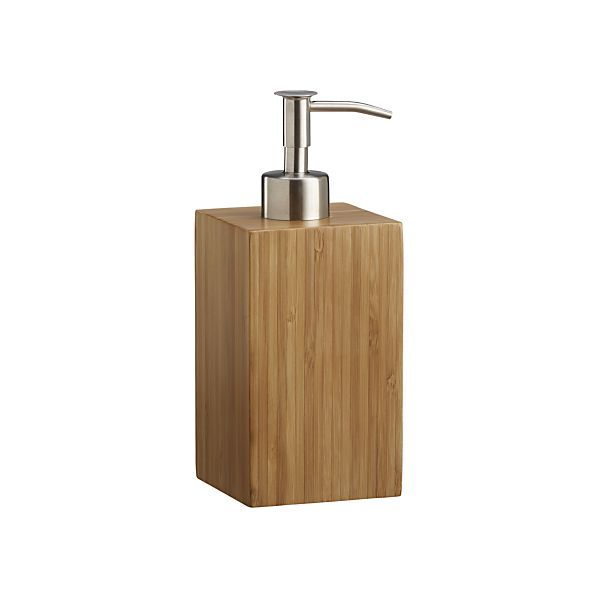 Bamboo Soap Pump