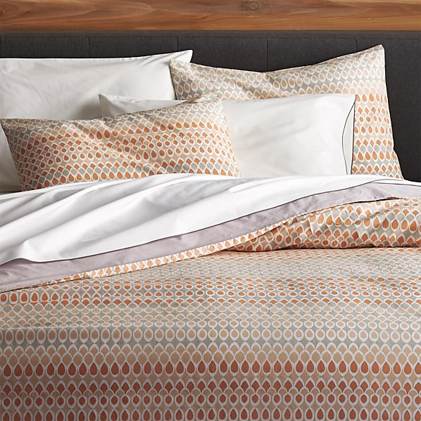 Crate And Barrel Bedroom: Banjara Full-Queen Duvet Cover In Duvet Covers & Duvet