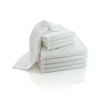 Bar Mop Dish Cloths and Dish Towels Sets of Four