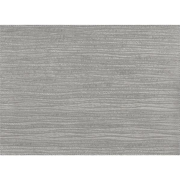 Bark Silver Placemat