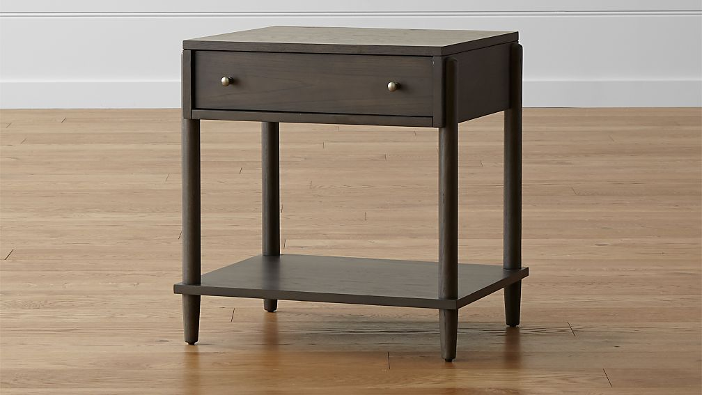 Barnes Smoke Brown Nightstand