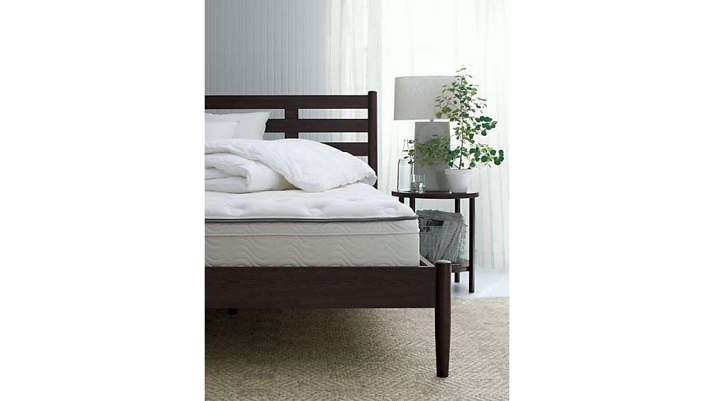 Barnes Smoke Brown Twin Bed
