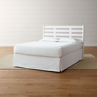 Barnes White Headboard