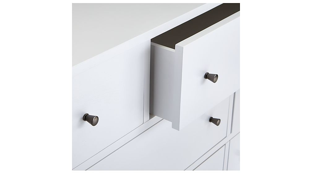 Barnes White 7-Drawer Dresser
