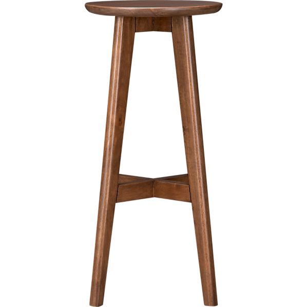 "Walnut 30"" Barstool"