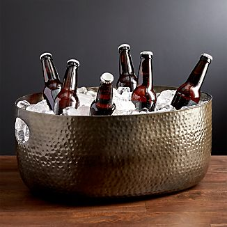 Bash Beverage Tub with Graphite Finish