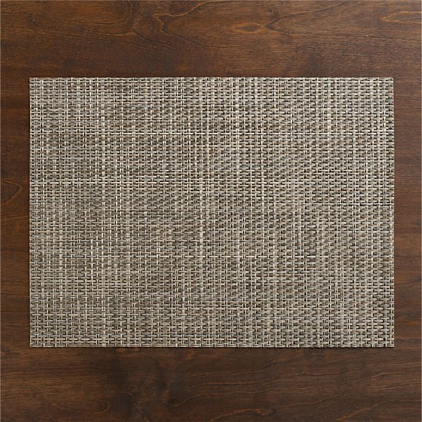Chilewich ® Platinum Basketweave Placemat