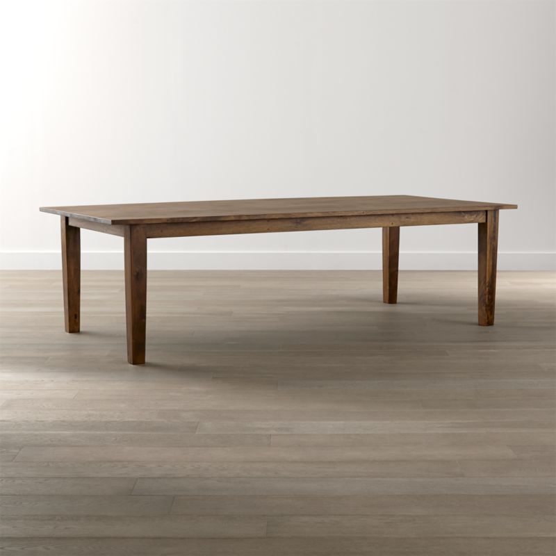Basque honey 104 dining table crate and barrel - Crate and barrel kitchen tables ...