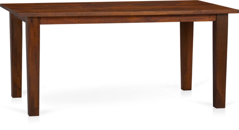 Basque Honey 65 Quot Dining Table Crate And Barrel