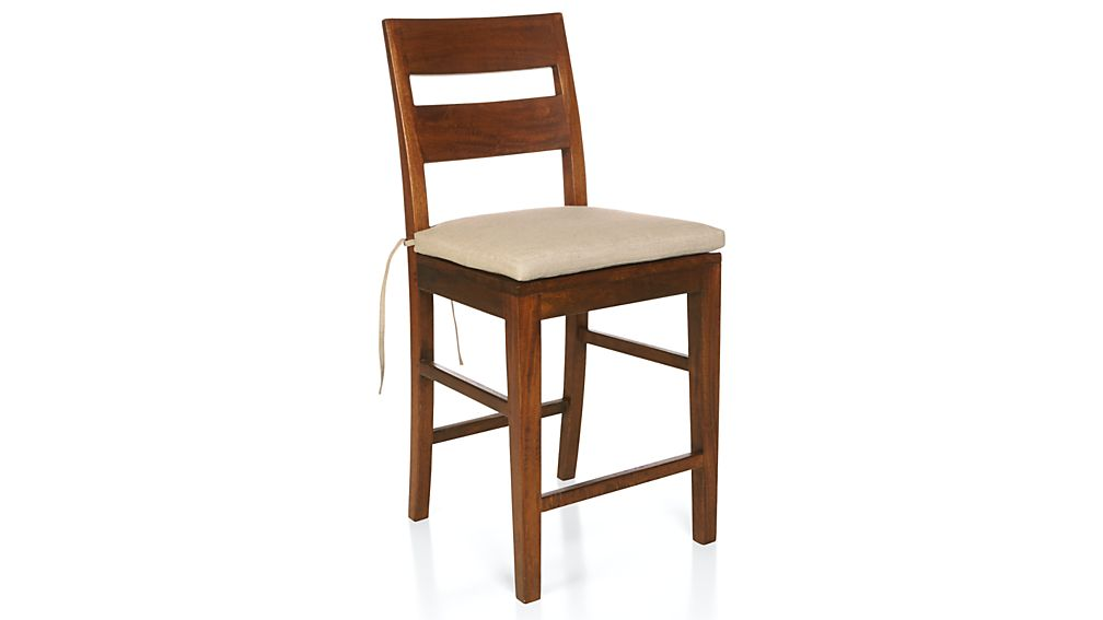 Basque Red Chair–Bar Stool Cushion