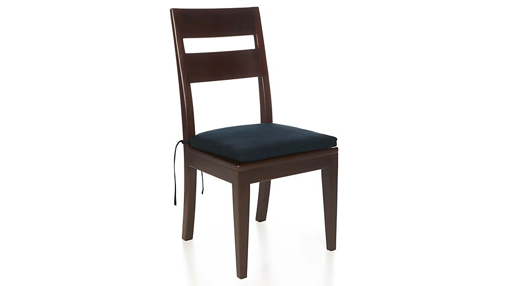 Basque Navy Chair Bar Stool Cushion Crate And Barrel