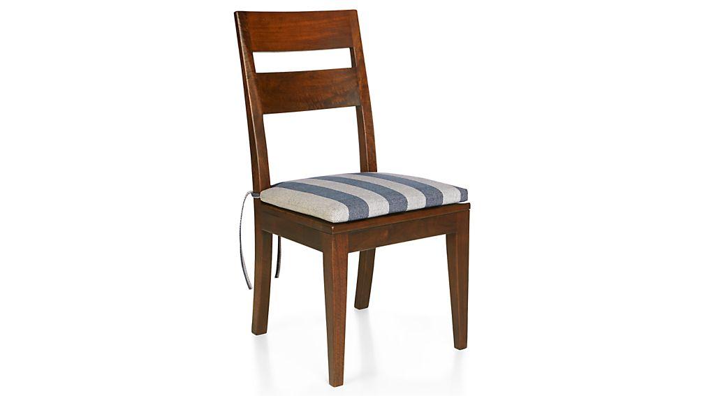Basque Stripe Chair–Bar Stool Cushion