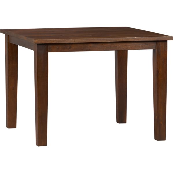 """Basque Honey 40"""" Square Dining Table"""