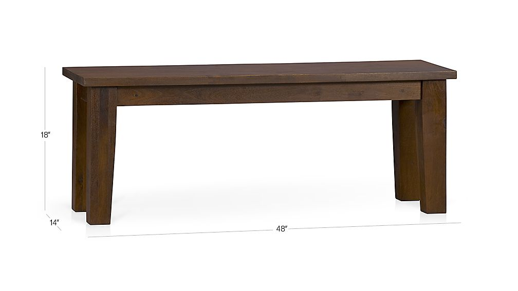 Basque Honey 48 Quot Bench Crate And Barrel