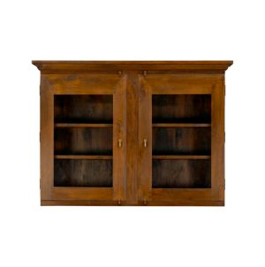 Basque Honey Buffet With Hutch Top In Kitchen Islands