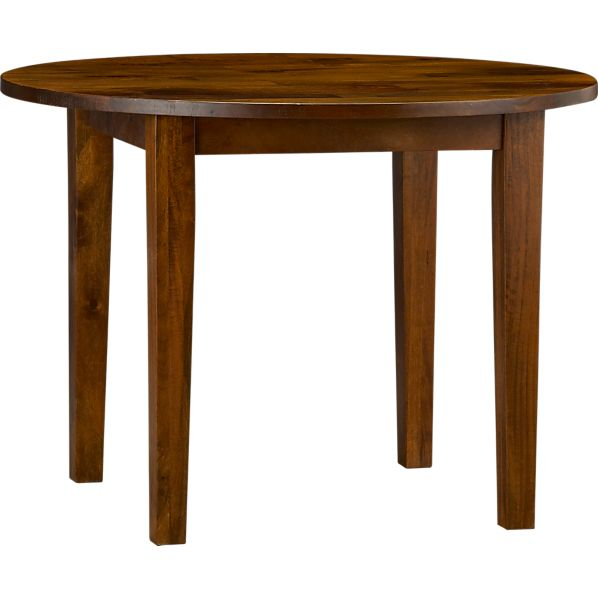 "Basque Honey 42"" Round Table"