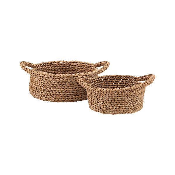 Set of 2 Batangas Bread Baskets