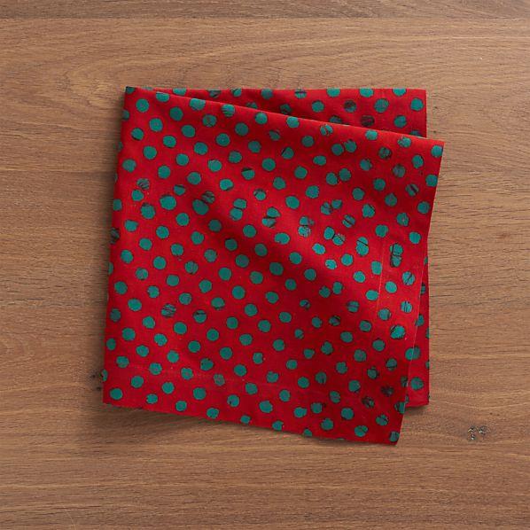 Batik Polka Dot Napkin